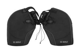 Rainers XVWINT - Cubre Cuello Termico Spike Negro